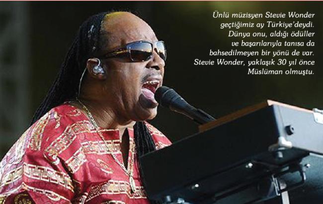Kalbiyle Gören Adam: Stevie Wonder