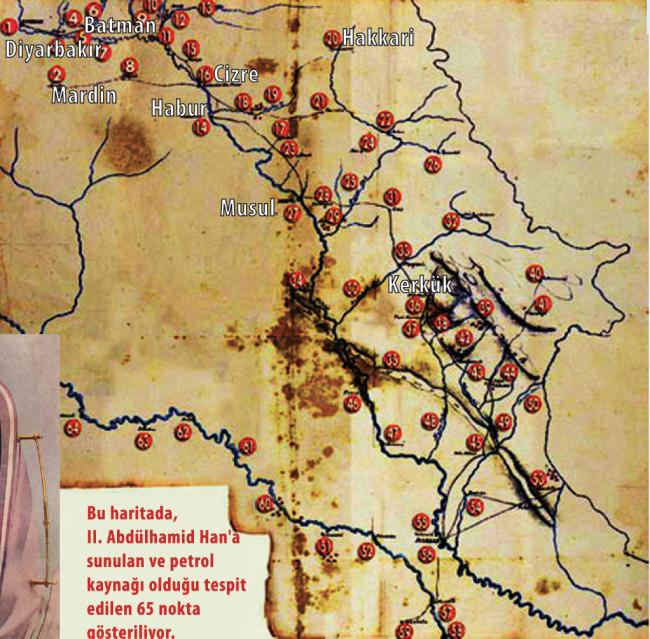 Sultan II. Abdülhamid'in Gizemli Petrol Haritası