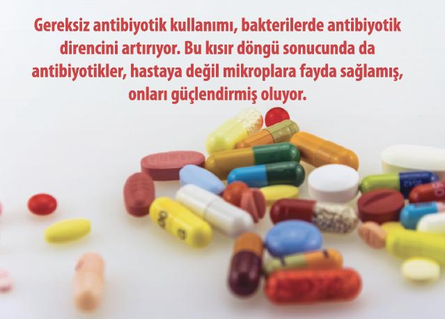 Antibiyotikler Uygun Kullanılıyor mu?