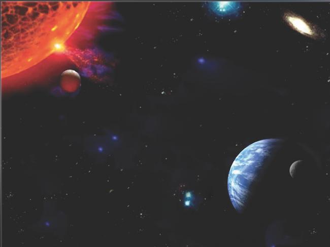 Yıldızlar Boşlukta Değildir, Allah'ın Tayin Ettiği Yerdedir