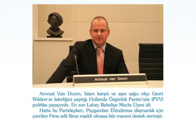 Ateist ve Irkçı Olan Arnoud Van Doorn Müslüman Oldu