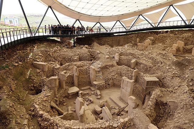 Dünyanın En Eski Tapınağı:  Göbeklitepe