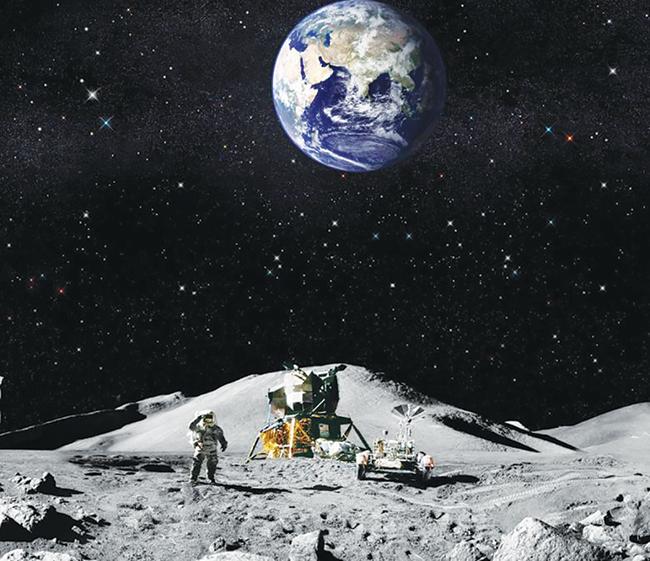 Ayın Toprağını Çiğnerken Seyretmek Dünyayı