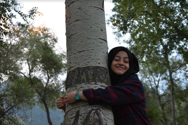 Yeşil Terapi / Ağaçlara Sarılmak Pozitif Enerji Veriyor!