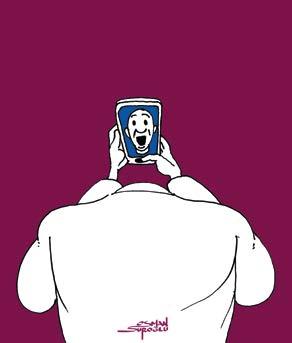 Karikatür Okumaları / Telefon