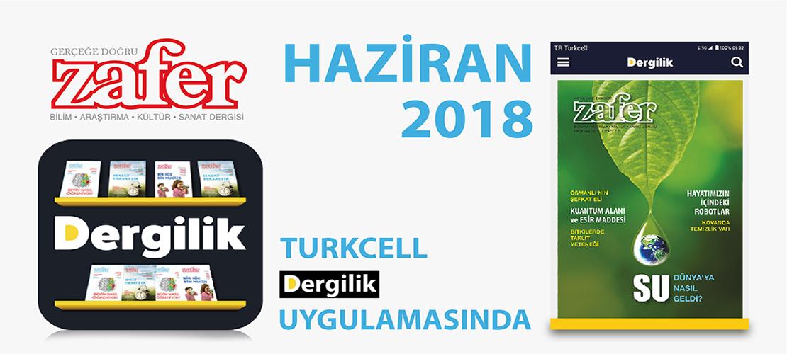 Haziran 2018 Turkcell Dergilikte