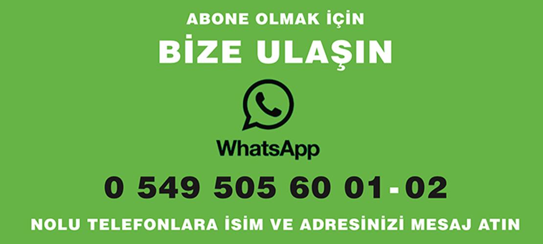 Whatsapp Bize Ulaşın